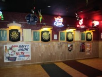 spotted dog bar and grille dart boards